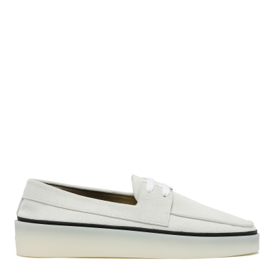 White Boat Sneakers