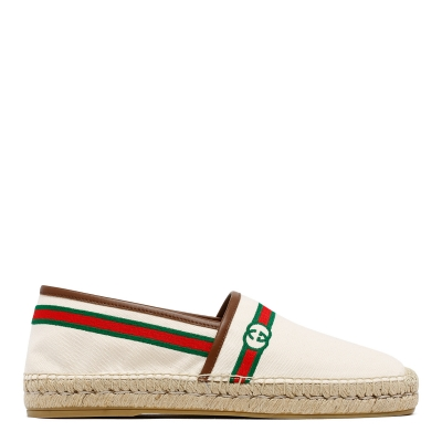 Canvas Embroidered Espadrilles