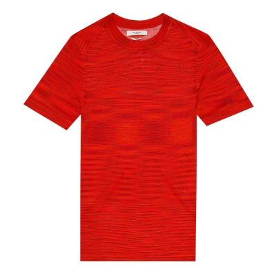 Red Rayon T-shirt