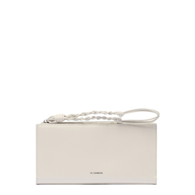 Wallet With Knotted Strap