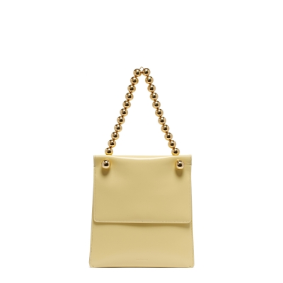Pastel Yellow Bag with Sphere Strap