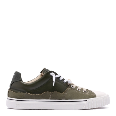 Green Olive lace-up Sneakers