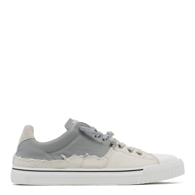 Gray Lace-up Sneakers
