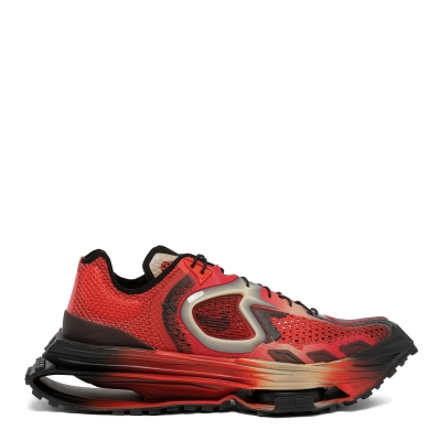 Red Zoom MMW 4 Sneakers