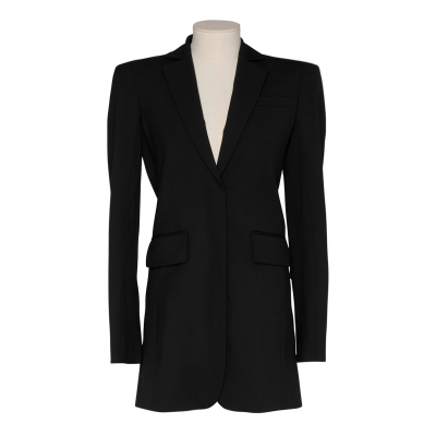 Black Tailored Cut-Out Blazer