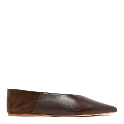 Brown Amelie Babouche Slippers