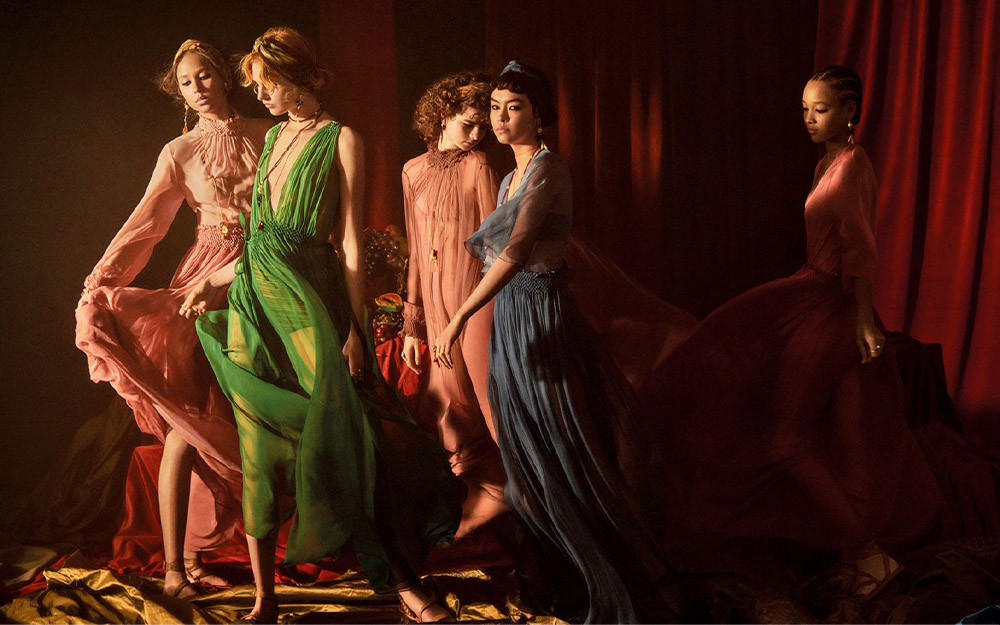 THE POWER OF ART: DIOR SS AD CAMPAIGN