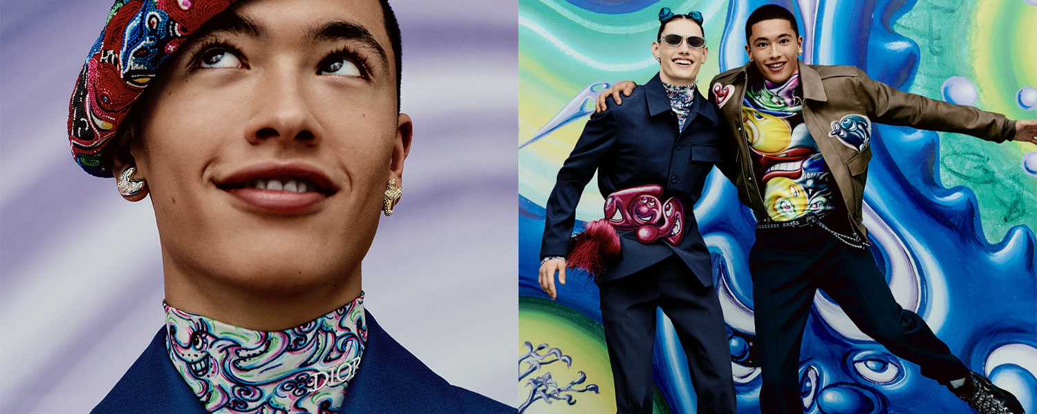 THE HYPER-COLORED NEW WORLD OF DIOR HOMME