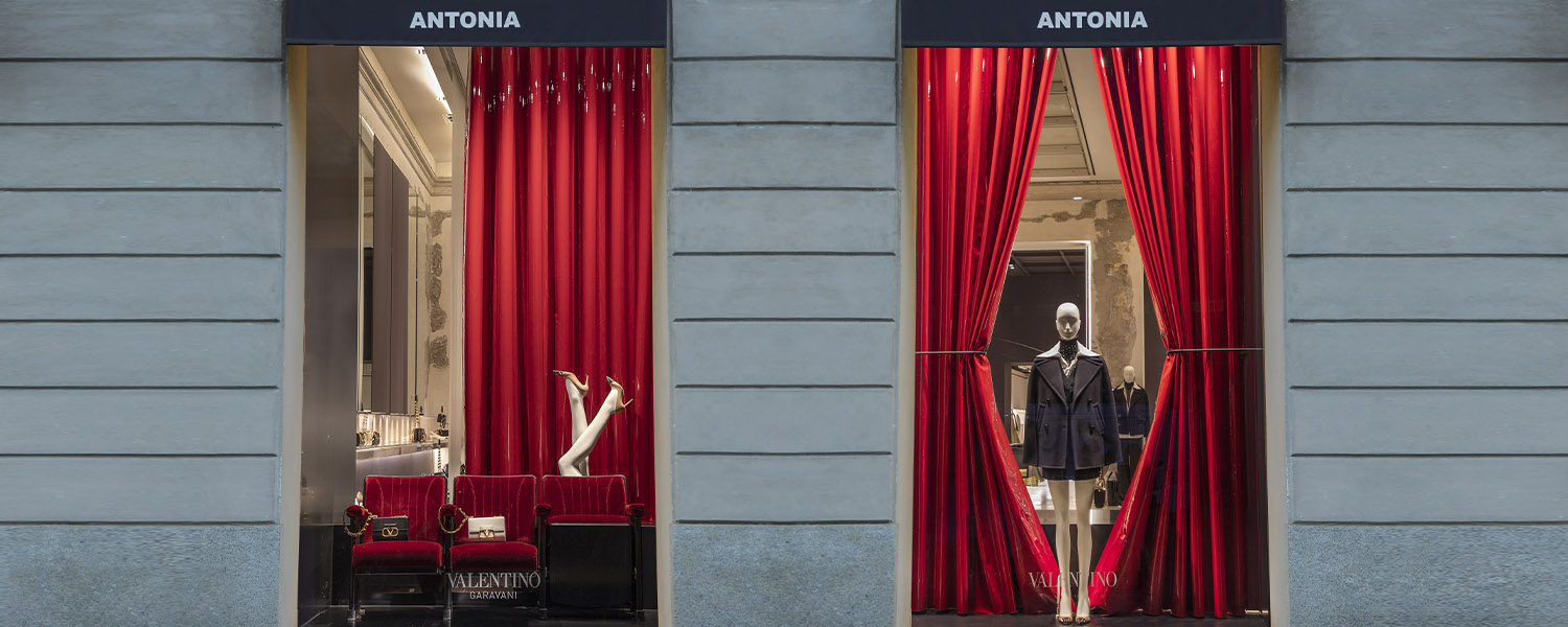 SPECIAL PROJECTS: MAISON VALENTINO TAKES OVER ANTONIA MILANO